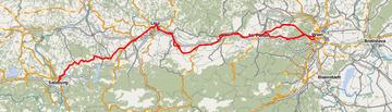 Westbahn route (Austria)