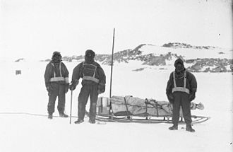 Australasian Antarctic Expedition - The Western survey party