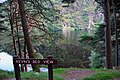 Wicklow Mountains National Park Glendalough Valley Kevins Bed View 01.JPG