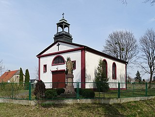 Wielkie Rychnowo Village in Kuyavian-Pomeranian Voivodeship, Poland