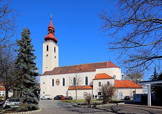 Simmering (Vienna) - Saints Peter and Paul Church in Kaiserebersdorf