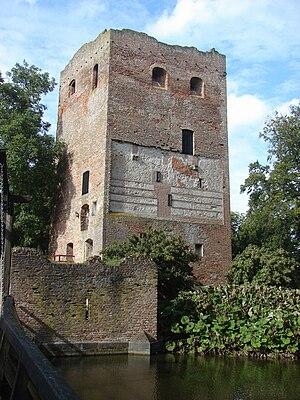 Duurstede Castle - The 13th-century Donjon of Zweder I van Zuylen van Abcoude in 2006