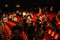 Wikimania 2009 - People leaving Teatro Alvear.jpg