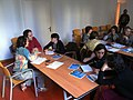 Wikipedia Workshop for library directors at F.Bonnemaison in Barcelona (9).JPG