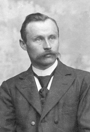 Petershagen - Wilhelm Normann in 1905