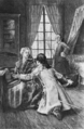 Wilhelm suddenly threw himself at Philinas feet (The Works of J. W. von Goethe, Volume 2).png