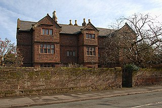 former manor house in the village of Willaston in Cheshire West and Chester, England