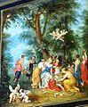 Willem van Haecht - Apelles painting Campaspe - detail upper right (cropped Rape of Europa).jpg