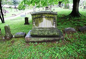 William Rule (American editor) - Rule's grave at Old Gray Cemetery