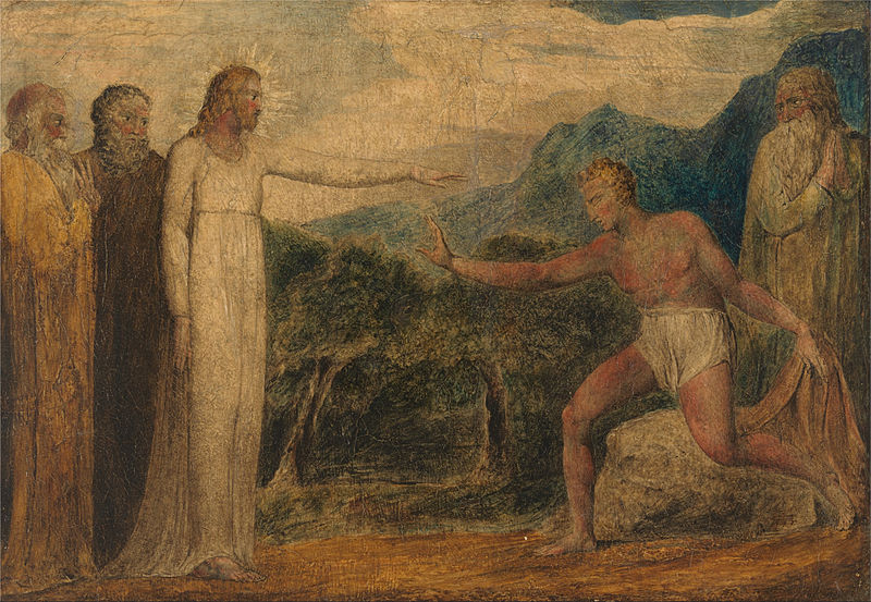 File:William Blake - Christ Giving Sight to Bartimaeus - Google Art Project.jpg