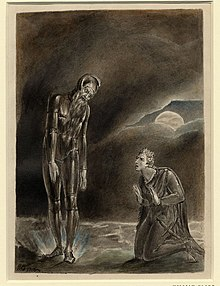 Hamlet y el fantasma de su padre (1806), William Blake (British Museum).