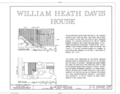 William Heath Davis House, 227 Eleventh Avenue, San Diego, San Diego County, CA HABS CAL,37-SANDI,2- (sheet 1 of 6).png