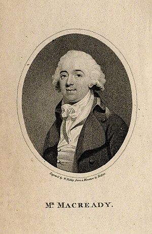 William Macready the elder - :William Macready, 1794 engraving