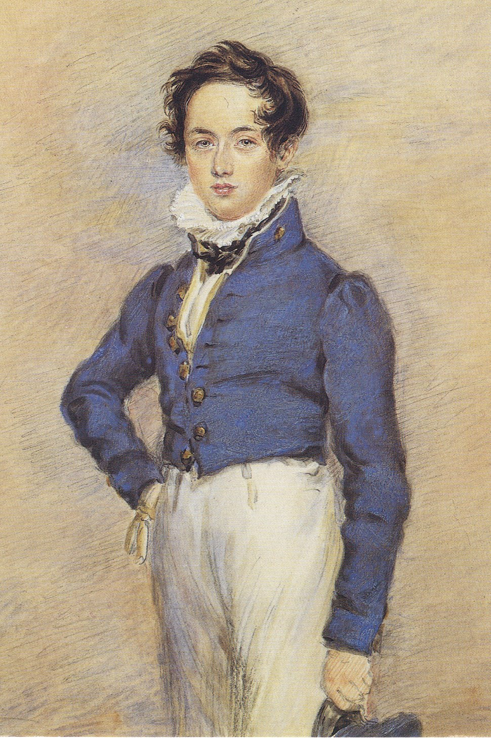 William Sterndale Bennett by James Warren Childe, c. 1832