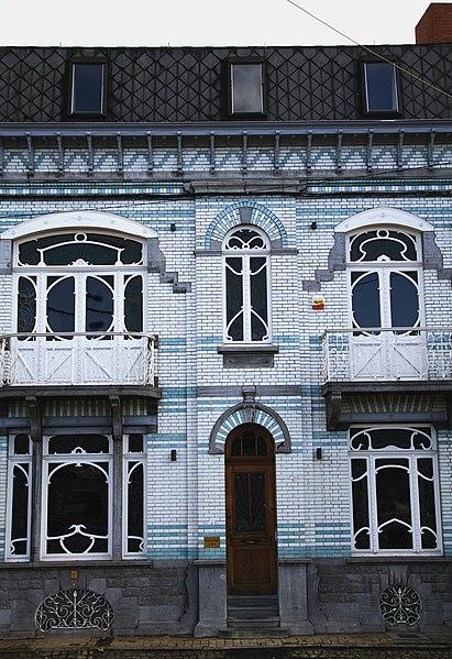 Maison Allart, aujourd'hui étude du notaire Debray, place E. Wilson, n° 13, Châtelineau