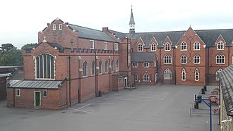 Wimbledon College - Playground and buildings