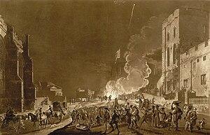 Guy Fawkes Night - Festivities in Windsor Castle by Paul Sandby, c. 1776