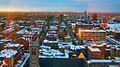 Winter view over Center Square, Albany, NY, from Smith Building.jpg