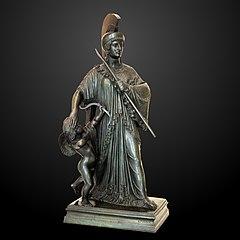 Wisdom resisting the arrows of Cupid-James Pradier-MAHG Inv 1954-0007