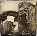 Witch and troll by John Bauer 1909.jpg