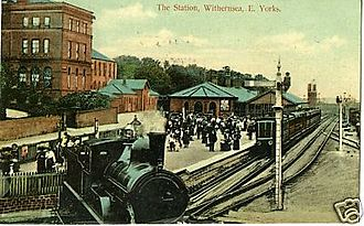 Withernsea railway station - Image: Withernsea Railway Station