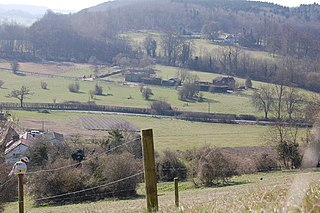 Woldingham village in the United Kingdom