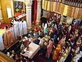 Women in Syrian Orthodox Church Palm Sunday Bombay.jpg