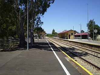 Woodville railway station, Adelaide - Image: Woodville Railway Station Adelaide