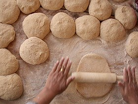 Work dough