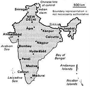 World Factbook (1990) India.jpg