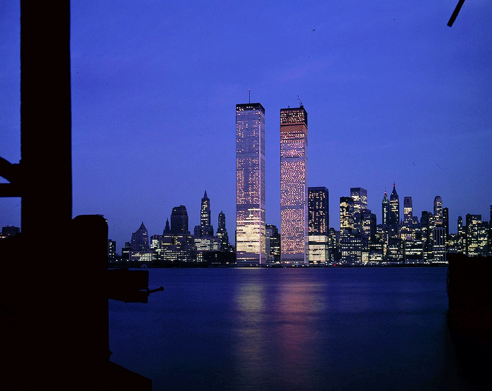 World Trade Center Skyline at Night (29143322320)