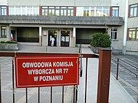 Wybory 2015 prezydenckie, Poznan Winiary.jpg