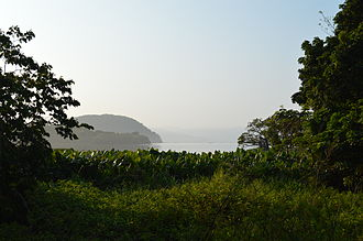 Catemaco (municipality) - Looking towards Lake Catemaco from the Xococapan Tourist Ranch