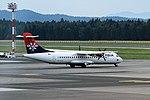 YU-ALO ATR72-202 Air Serbia Ljubljana 08-07-17 (36158061451).jpg