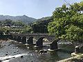 Yabakeibashi Bridge on Yamakunigawa River 2.jpg