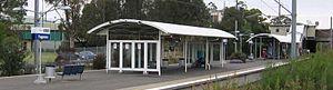 Yagoona, New South Wales - Yagoona railway station