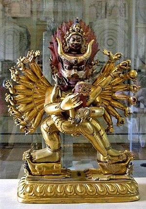 Heruka - Yamantaka Vajrabhairav, British Museum.