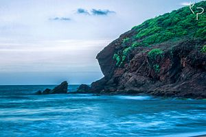 Yarada Beach - Yarada Beach view