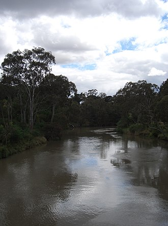 Main Yarra Trail - Image: Yarra River from Kanes Bridge