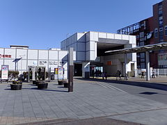 Yokohama Municipal Subway Center-Minami Station exterior.jpg
