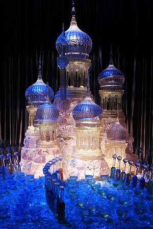 Warner Bros. Studio Tour London - The Making of Harry Potter - Yule Ball Ice Castle