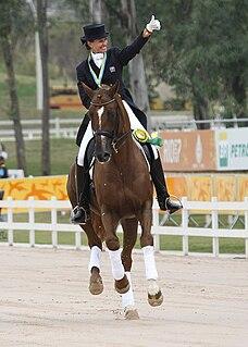 Yvonne Losos de Muñiz Dominican Republic equestrian