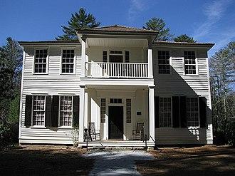 Mordecai Zachary House - Image: Zachary Tolbert House