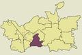 Zawiercie Warty location map.png