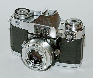 Contaflex SLR Family of 35mm SLR cameras