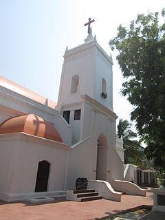 Church in Nagapattinam district, India