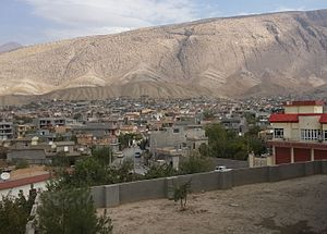 Soran, Iraq - Image: Zozik Mt In Soran City (cropped)