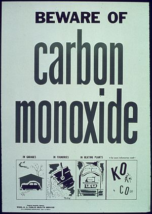 """Beware of carbon monoxide"" - NARA -..."