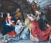 'Adoration of the Magi', workshop of Peter Paul Rubens, The Hermitage.JPG