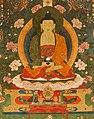 'Amitabha in Sukhavati Paradise', Tibetan, circa 1700, San Antonio Museum of Art (cropped).jpg